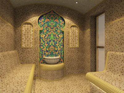 Декор на стены для хамама